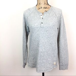 Lucky Brand Cotton Lined Henley S - N557